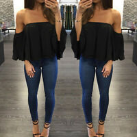 Women Strapless T-Shirt Tops Solid Color Sleeveles Pleated Casual T-Shirt Tops