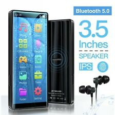 MYMAHDI MP3 Player with Bluetooth 5.0, High Resolution and Full Touch Screen, Bu