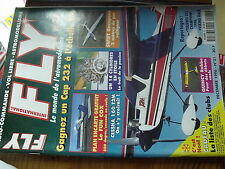 µ?a  Revue FLY n°21  plan encarté Fun Cox /  Swift Cessna 160 Quincy Sylgit