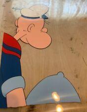 Vintage Popeye Original Animation Production Cel.