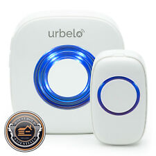 60-Chime Wireless Doorbell - Portable Plug-In Musical Door Bell Buzzer - Remote