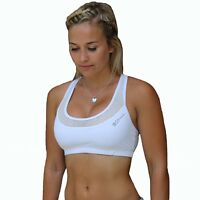 SOME EDGE SPORTS BRA, WOMENS FITNESS GYM WORKOUT CROP TOP LADIES