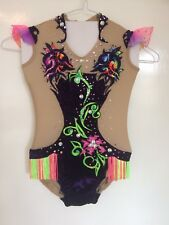 "Rhythmic Gymnastic Leotard ""Wild Orchids"", Brand-new, (Height 125 sm / 4.1ft)"