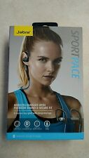 New JABRA Sport Pace Bluetooth Wireless Sports Headset (Blue)
