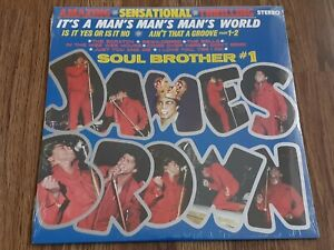 JAMES BROWN  - IT'S A MAN'S MAN'S WORLD: SOUL BROTHER #1 LP NEW SEALED