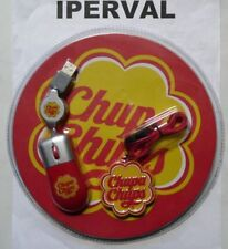 Mouse + Pen Drive Usb + Tappetino + Laccetto Chupa Chups NUOVI Originale Penna