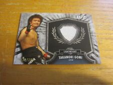 Takanori Gomi 2012 Topps UFC Bloodlines Fighter Relics #FRTG #'d 051/188 MMA UFC