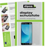 6x Samsung Galaxy J7 Max Schutzfolie matt Displayschutzfolie Folie Display
