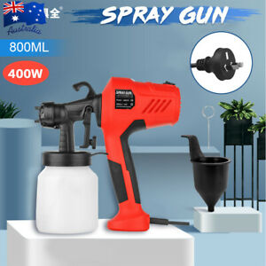 ELECTRIC 400W PAINT SPRAYER WAGNER AIRLESS SPRAY GUN HVLP HANDHELD OUTDOOR FENCE