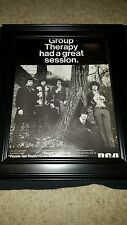 Group Therapy People Get Ready Rare Original Promo Poster Ad Framed!