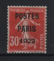 "FRANCE STAMP TIMBRE PREOBLITERE 32 "" SEMEUSE 30c POSTES 1922 "" NEUF (x) TTB R803"