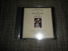 Phantom Of The Opera {Canadian Cast} Colm Wilkinson (CD 1990 Polygram/Columbia