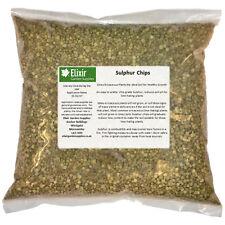 Sulphur Chips 5kg Garden Fertilizer
