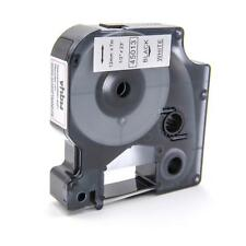 CASSETTA NASTRO 12mm N/B VHBW per Dymo D1, 45013