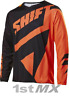 Shift 3LACK LABEL Mainline Black Orange Motocross MX Race Jersey Adult Small