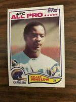 1982 Topps #241 Kellen Winslow San Diego Chargers  NrMt