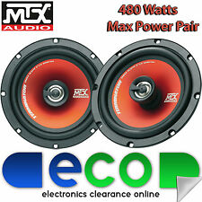 "Ford Galaxy MK1.1 2000-06 MTX 16cm 6.5"" 480 Watts 2 Way Front Door Car Speakers"
