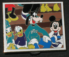 Disney Pin Trading University PTU Yearbook Donald Goofy Mickey Pep Rally LE 300