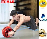 🔥Roller Abdominal Wheel Ab Exercise Workout Fitness Gym Core Abs Pad + BONUS🔥
