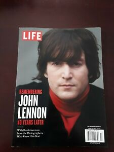 Life Magazine 2020 The Beatles 40 Years Later Remembering JOHN LENNON