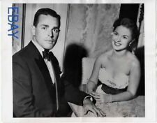 Shirley Temple w/her husbsnd VINTAGE Photo
