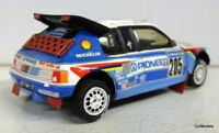 Starter 1/43 Scale resin built kit Peugeot 205 T16 Grand Raid Paris Dakar Rally