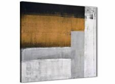 Orange Grey Painting Bathroom Canvas Accessories - Abstract 1s426s - 49cm