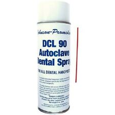 Johnson Promident DCL 90 Hand Piece Lubricant and Cleaner 6 oz Spray Can L-DCL