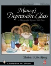 MAUZY'S DEPRESSION GLASS - A PHOTOGRAPHIC REFERENCE BOOK 3RD EDITION BY MAUZY