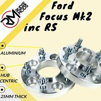 Ford Focus Mk2 inc RS 5x108 25mm Hubcentric wheel spacers 1 pair - show use only