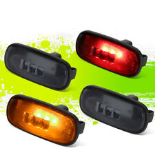 FOR 03-09 DODGE RAM TRUCK 4PCS LED DUALLY FENDER MARKER LIGHT SMOKED 05 06 07 08