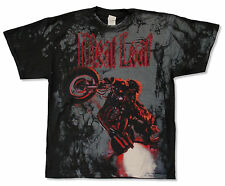 """MEAT LOAF """"CYCLE ALL-OVER TOUR 2010"""" BLACK T-SHIRT NEW SINGER MUSIC OFFICIAL L"""
