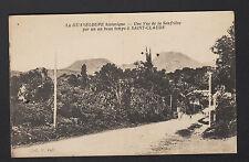 SAINT-CLAUDE (GUADELOUPE) VILLAS animé & SOUFRIERE début 1900
