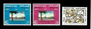 Stamps IRAQ (1970) CV £107+ National Development Anniversary SG 916-918 SCARCE