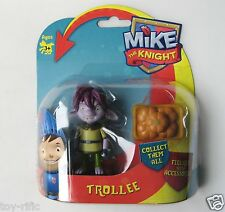 "MIKE THE KNIGHT FIGURES - 3"" TALL – TROLLEE WITH PUMPKIN BASKET  – BRAND NEW!"