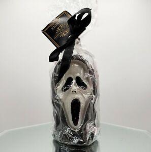"SCREAM Movie Fitz & Floyd Candle 4"" Halloween New Old Stock Goth RARE"
