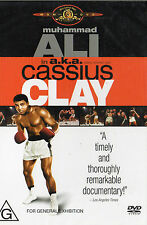 ALI aka CASSIUS CLAY -Muhammad Ali -DVD -NEW & SEALED -R4 -Never played!! - RARE