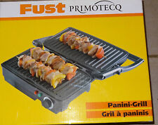 PANINI TOASTER  PANINI- GRLL  FUST PRIMOTECQ  Neu