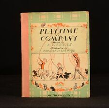 1925 Playtime and Company E V Lucas E H Shepard First Edition Children's