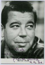 Autogramm Gernot Duda (1928-2004) Schauspieler Synchronsprecher Okay Sir
