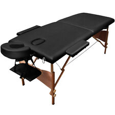 """Goplus 84""""L Portable Massage Table Facial SPA Bed Tattoo w/Free Carry Case Black"""