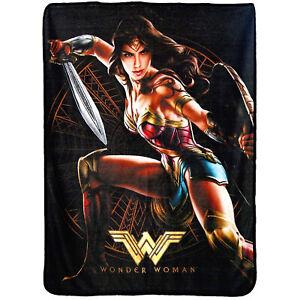 New DC Comics Wonder Woman Good Soldier Soft Super Plush Large Throw Blanket