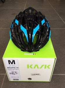 kask mojito Cycling helmet medium In Black/Light Blue, Road, Mtb, CX