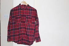 Womens Urban Outfitters Red Plaid Shirt- Size X Small