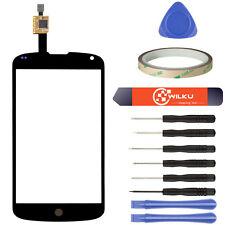 LG Nexus 4 E960 Digitizer Schwarz ● Display Touchscreen Scheibe Frontglas