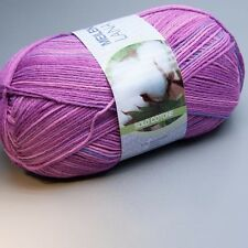 Lana Grossa Meilenweit Solo Cotone 4009 print 100g Sockenwolle (7.50 EUR pro 100