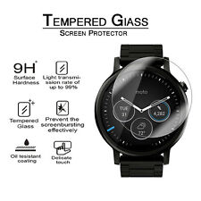 9H Real Tempered Glass Screen Protector Film For Motorola Moto 360 Smart Watch