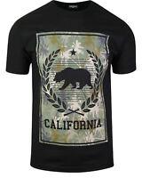 ShirtBANC Camouflage California Bear Shirt Military Cali Tee Camo Palm Trees