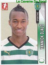 256 YANNICK DJALO PORTUGAL SPORTING.CP TOULOUSE.FC STICKER FUTEBOL 2009 PANINI