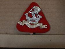 West Riding Regiment Cap Badge Staybrite Anodised Firmin London Genuine 1980's